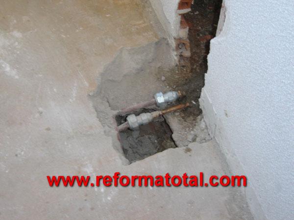 04 04 imagenes de obra civil reforma total en madrid for Precios limpieza alfombras madrid