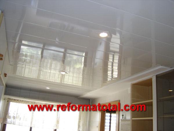 04 10 imagenes techos cocinas techos de aluminio for Techos para cocinas