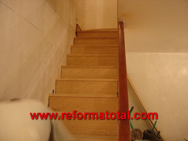 05 48 fotos de escaleras de interior reformas integrales - Reformas de escaleras ...