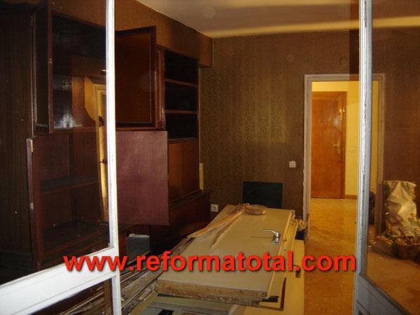 11 01 fotos reforma integral piso reformas integrales en for Cambiar puertas piso
