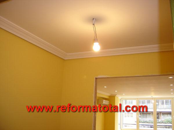 11 05 fotos techos falsos falsos techos en madrid empresa instaladora de techos falsos - Escayola decorativa techo ...
