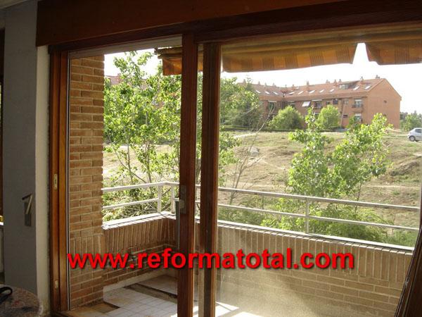 14 10 fotos aluminio puertas ventanas reforma total en madrid empresa de reformas y obras - Puerta terraza ...