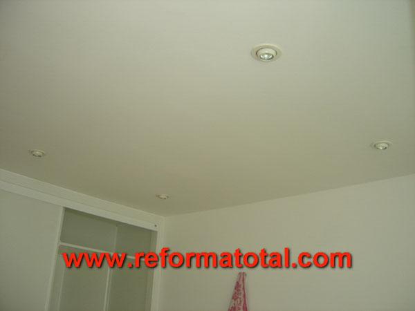16 04 fotos carpinteria de madera fotos de reformas y - Halogenos de techo ...