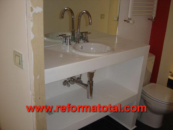 016 076 fotos de montar mueble ba o im genes de montar for Bajo lavabo de obra