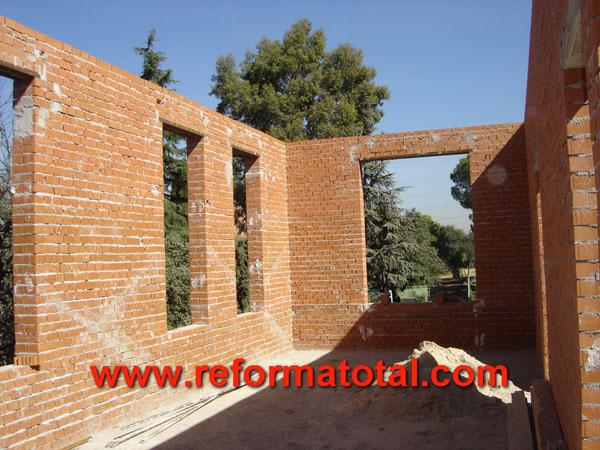 19 04 fotos tabique de ladrillos reforma total en - Empresa construccion madrid ...