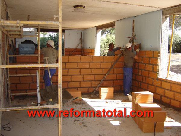 19 06 fotos obras casas reformas integrales en madrid for Construccion de casas