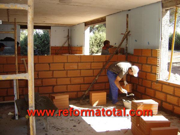 19 06 fotos obras casas reforma total en madrid empresa de reformas y obras integrales - Construcciones de casas ...