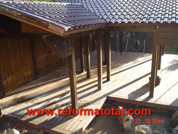 21 02 fotos pergola de madera reformas integrales en - Pergola de obra ...