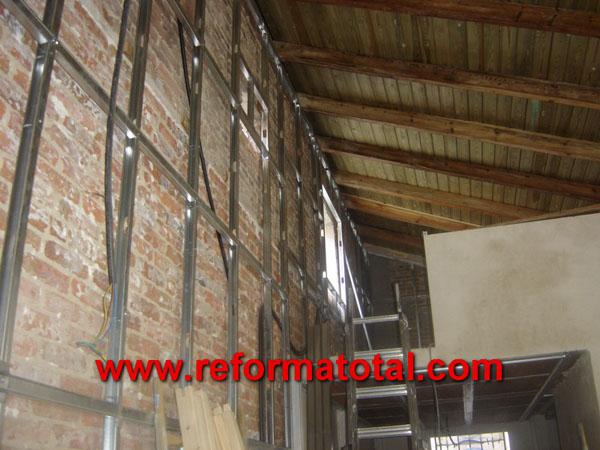 023 059 fotos paredes de pladur casa im genes paredes - Montadores de pladur en madrid ...