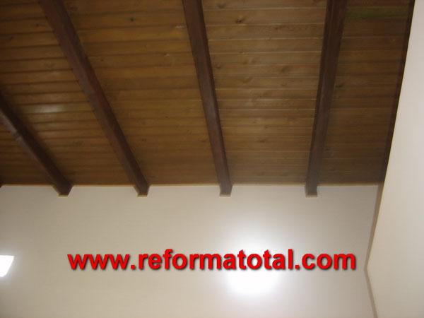 23 29 imagenes techos vigas reformas integrales en - Vigas madera techo ...