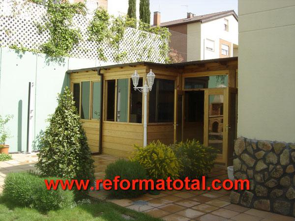 25 06 fotos casa de madera reformas integrales en madrid - Casas de madera alcorcon ...