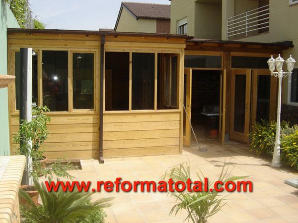 25 06 fotos casa de madera carpinteria de madera - Casa de madera precios ...