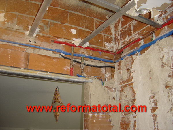 28 03 fotos instalacion falso techo falsos techos en - Falsos techos para banos ...