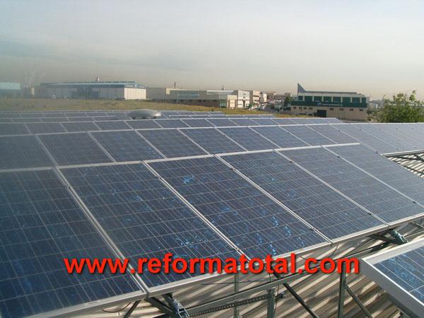 29 01 imagenes paneles solares reformas integrales en madrid reformas y decoraciones integrales - Energia solar madrid ...