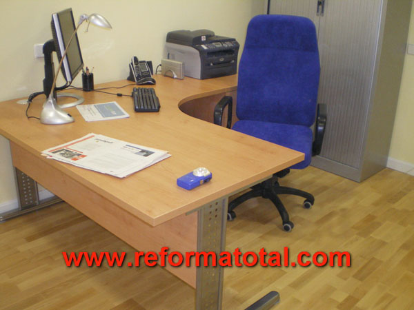 33 02 imagenes reformas oficina fotos de reformas y for Muebles oficina madrid