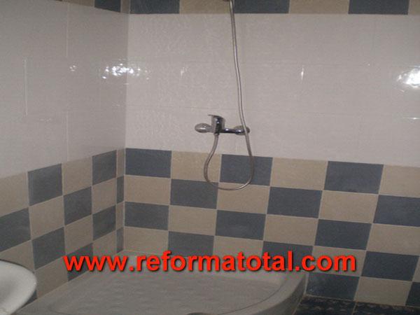 039 01 fotos reformas sotano fotos de reformas y for Piso ducha bano
