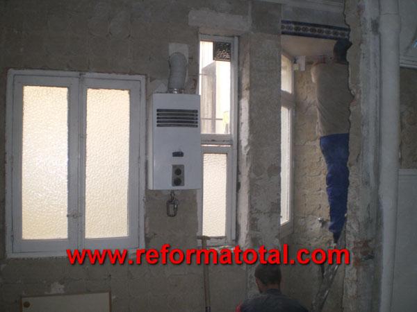 Desescombrar piso cocina caldera for Reforma total de un piso