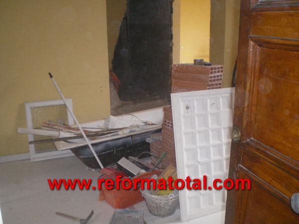 040 02 fotos reforma de piso fotos de reformas y for Piso obra nueva madrid