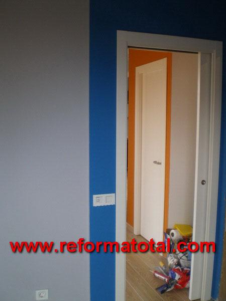 040 014 fotos pintura interiores reformas integrales en - Puertas de interior en madrid ...