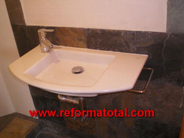 040 016 fotos reforma ba o reformas ba os en madrid for Reforma lavabo precio