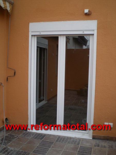 040 020 fotos cerramientos terrazas carpinteria de - Puertas de aluminio para terrazas ...