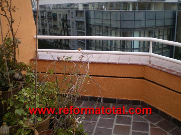 040 021 imagenes cerramientos cocinas reformas for Decoracion terrazas aticos fotos