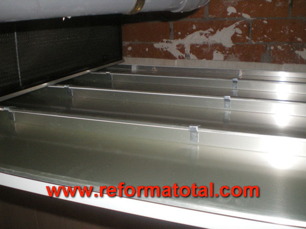 041 03 fotos techo aluminio falsos techos en madrid - Falso techo aluminio ...