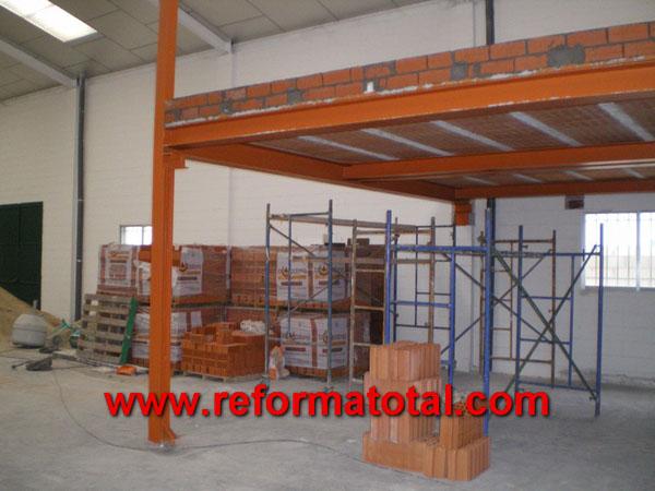044 06 imagenes estructura metalica nave fotos de for Forjado estructura metalica