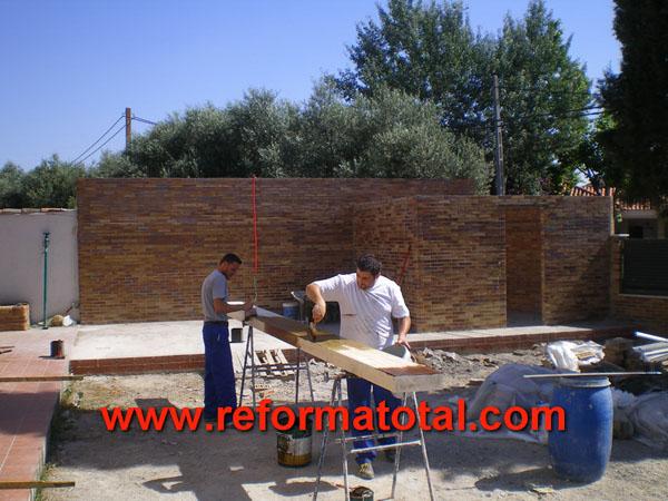 046 03 fotos construccion porches reforma total en - Empresa construccion madrid ...