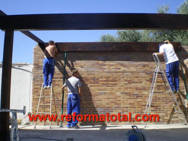 046 03 fotos construccion porches reformas integrales en madrid reformas y decoraciones Empresa construccion madrid