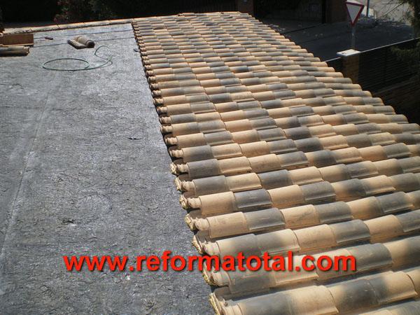 046 06 imagenes cenadores porches reformas integrales en for Reparar tejados de madera