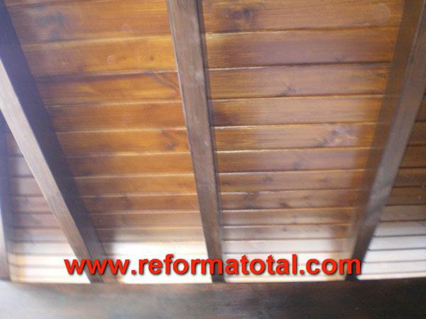 046 09 fotos techos rusticos reformas integrales en - Decoracion de techos rusticos ...