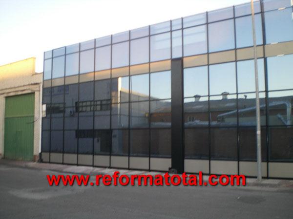 049 01 fotos cerramientos cristal reformas integrales en for Muro cristal