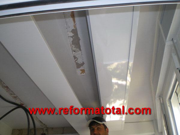 050 015 fotos de techo falso de aluminio im genes de - Falso techo aluminio ...