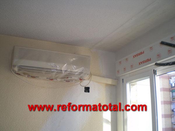 051 03 fotos reforma de piso fotos de reformas y for Instalacion aire acondicionado sevilla