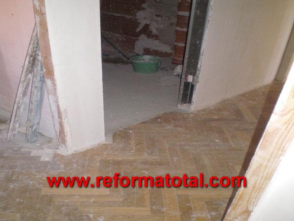051 04 imagenes obra piso fotos de reformas y for Pisos y decoraciones