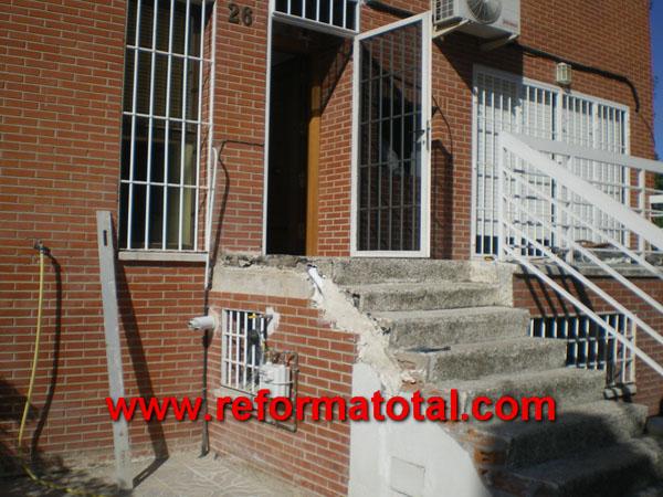 052 01 imagenes escaleras hormigon fotos de reformas y - Fotos de escaleras exteriores de casas ...