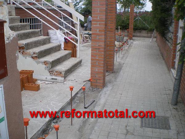 052 03 imagenes construccion pilares reformas integrales - Reformas integrales mostoles ...