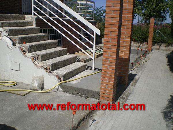 052 03 imagenes construccion pilares reformas integrales for Solados de hormigon