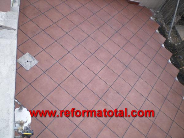 052 07 imagenes pavimento de gres fotos de reformas y - Pavimentos para exterior ...