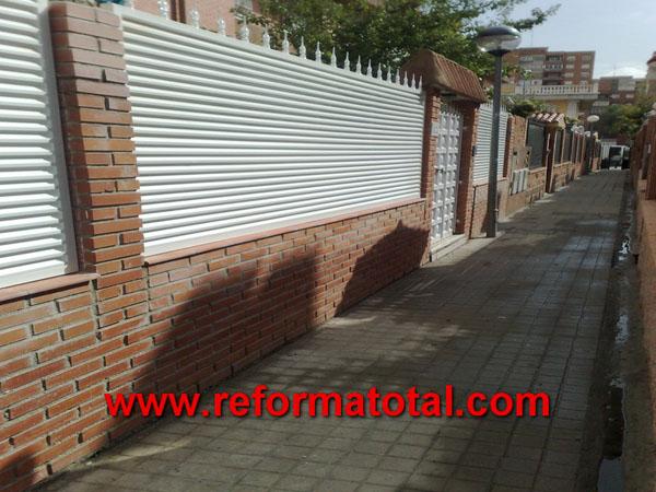 052 13 imagenes cerramientos seguridad reformas - Cerramientos de patios exteriores ...
