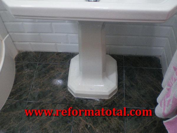 Lavabos Para Baño Lamosa:053-040_Fotos de baños suelos gres :: Imágenes de baños suelos gres