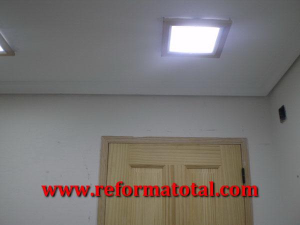 053 05 fotos cabina hidromasaje fotos de reformas y - Iluminacion falso techo ...