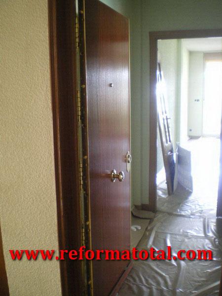 054 01 imagenes pintar piso reforma total en madrid for Reforma total de un piso