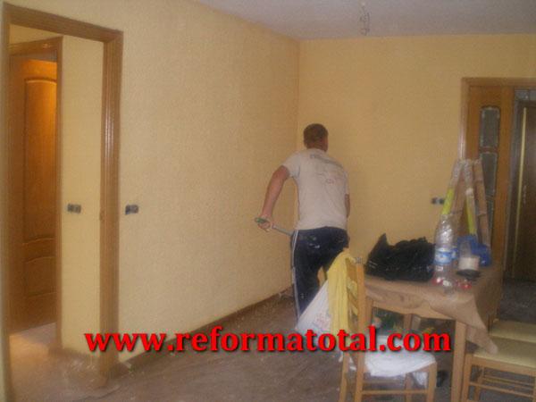 054 02 fotos pintura interiores fotos de reformas y for Decoracion pintura salon