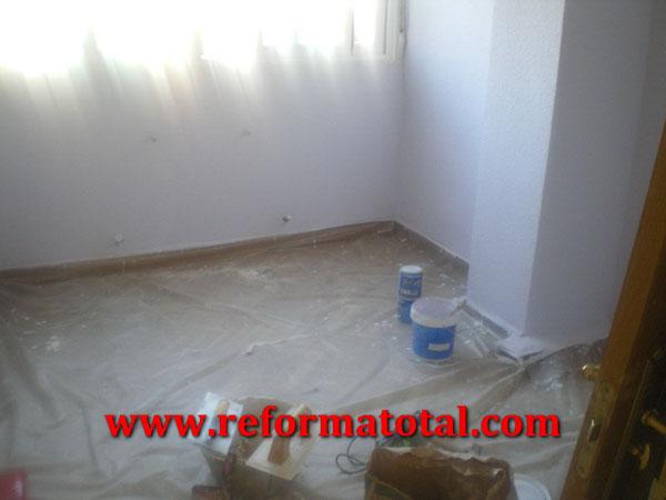 054 02 fotos pintura interiores reformas integrales en - Trabajos de pintor en madrid ...