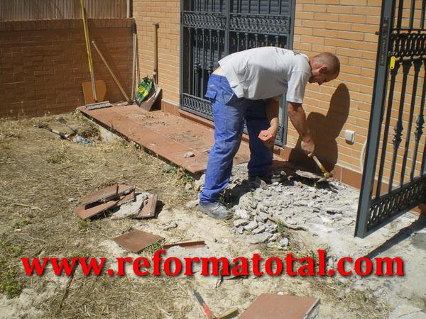 055 01 imagenes restaurar patio reforma total en madrid - Obras y reformas madrid ...